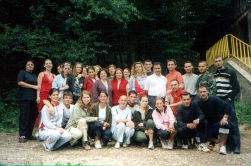 Gençlik Kolu gençleri dağ evinde bir araya getirdi