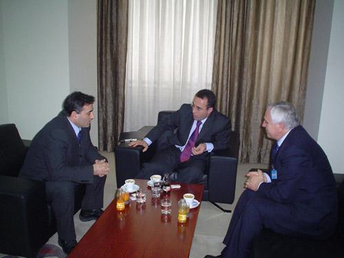 Kosova Başbakanı Ramush Haradinaj, KDTP Heyetini Kabul Etti