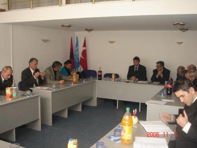 05 Kasım 2006 tarihli KDTP Merkez Yönetim Kurulu Toplantısından Bildiri