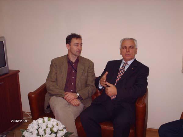 David Norlant Prizren belediyesini ziyareti