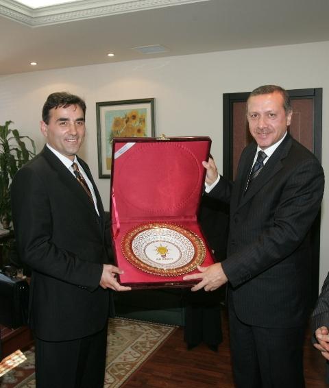 KDTP Genel Başkanı Mahir Yağcılar ve MYK Üyesi Sadettin Adiller AKP'nin II. Büyük Olağan Kongresine Katılacak