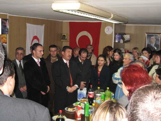 KDTP Prizren Şubesi Gençlik Kolu'ndan Öğretmenler Gününe Özel Kokteyl