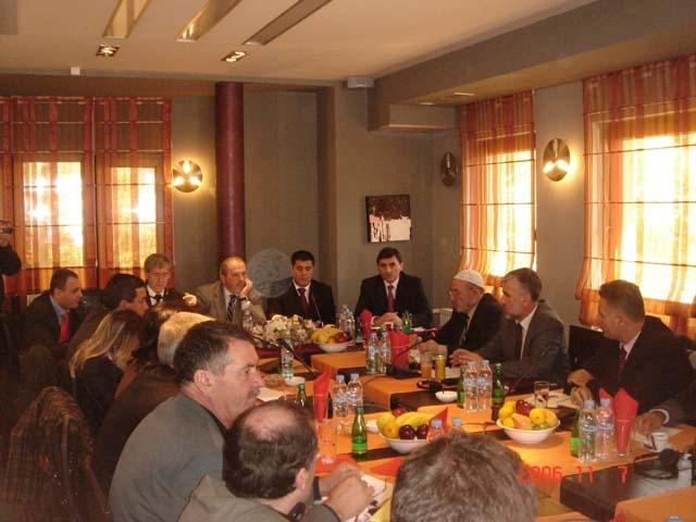Topluluklar Danışma Kurulu Toplantısında Kosovada Yeni Belediyelerin Kurulma Konusu Ele Alındı