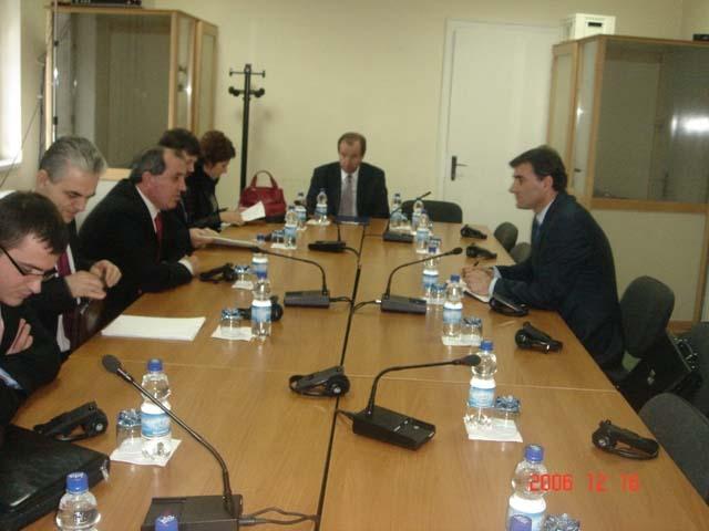 Arnavutluk Bakanı Mustafay'ın Kosova Ziyareti