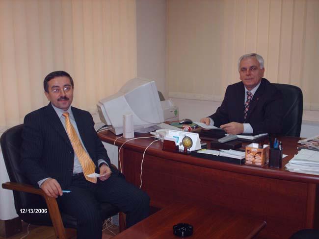 TİKA Koordinatörü Prizren Belediyesini ziyaret etti