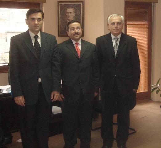 KDTP Genel Başkanı Mahir Yağcılar ve KDTP Prizren Şube Başkanı Ercan Şpat'dan Kosova TİKA Koordinatörü Metin Arslanbaş'a  Ziyaret