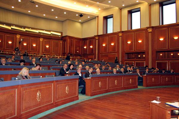 Kosova Meclisi Genel Kurulu Toplantısında 2007 Kosova Bütçesinin Yasa Tasarısının Birinci Okunması Yapıldı