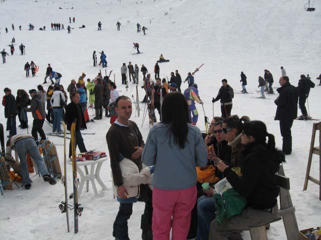 Gençlerimizin Brezoviça'da Kayak Keyfi
