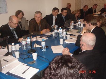 İhtilafa Düşme(Conflict) ve Kalkınma Toplantısında KDTP Genel başkanının Konuşması