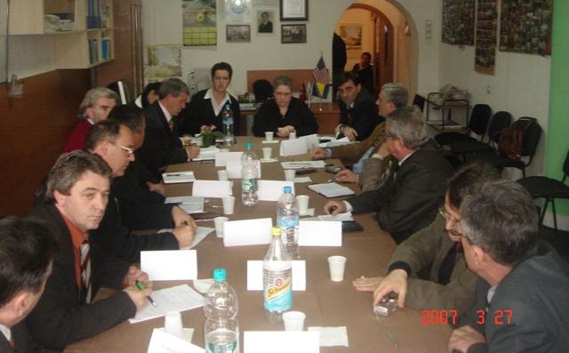 Kaidanova Prizren'de KDTP Genel Başkanı ve Sivil Toplum Kuruluşlarıyla Görüştü