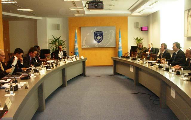Birleşmiş Milletler Güvenlik Konseyi Heyetiyle Topluluk Temsilcileri Görüştü