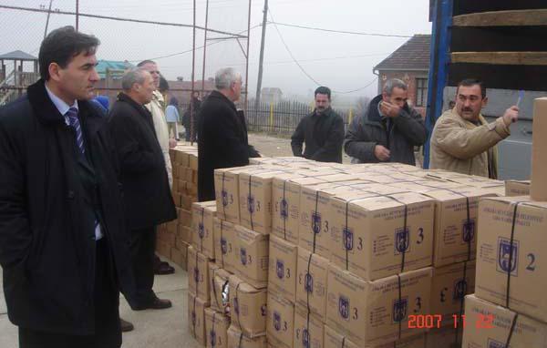 Ankara Büyükşehir Belediyesi'nin Kosova'ya Yardımı
