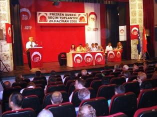 KDTP Prizren Şubesi Seçim Toplantısını Yaptı