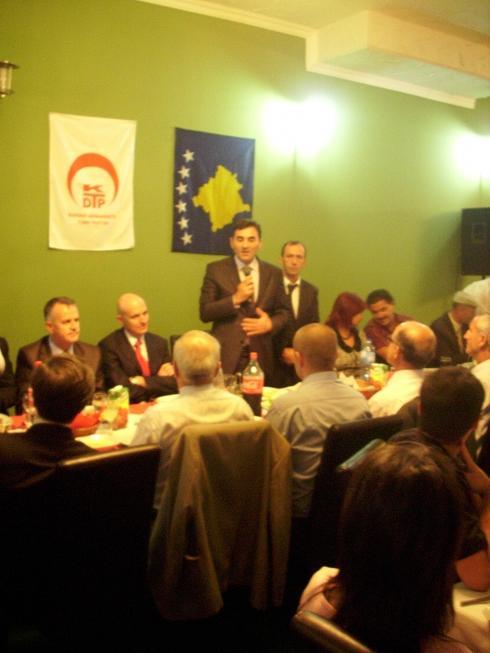 KDTP Mitroviça Şubesi İftarı