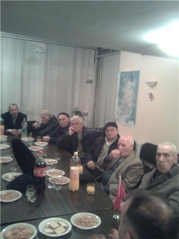 KDTP Priştine Adaylarına Cemaat Desteği