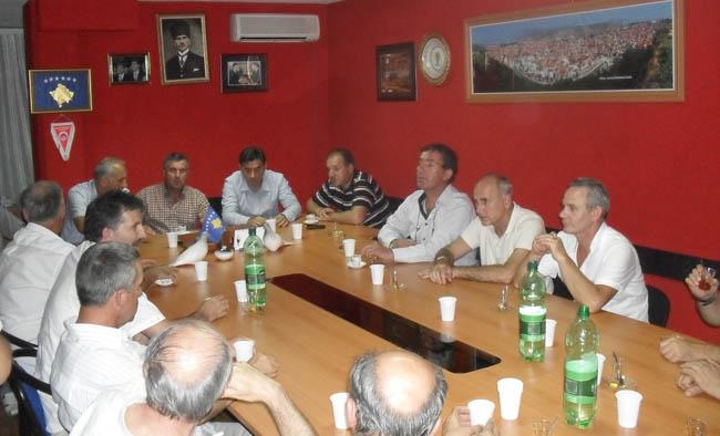 Esnaf Derneği Heyeti KDTP-Prizren Şubesinde
