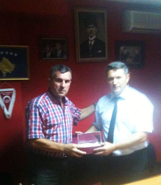 KDTP Prizren Şubesi Zanaatkar ve İşadamlarını Ağırladı