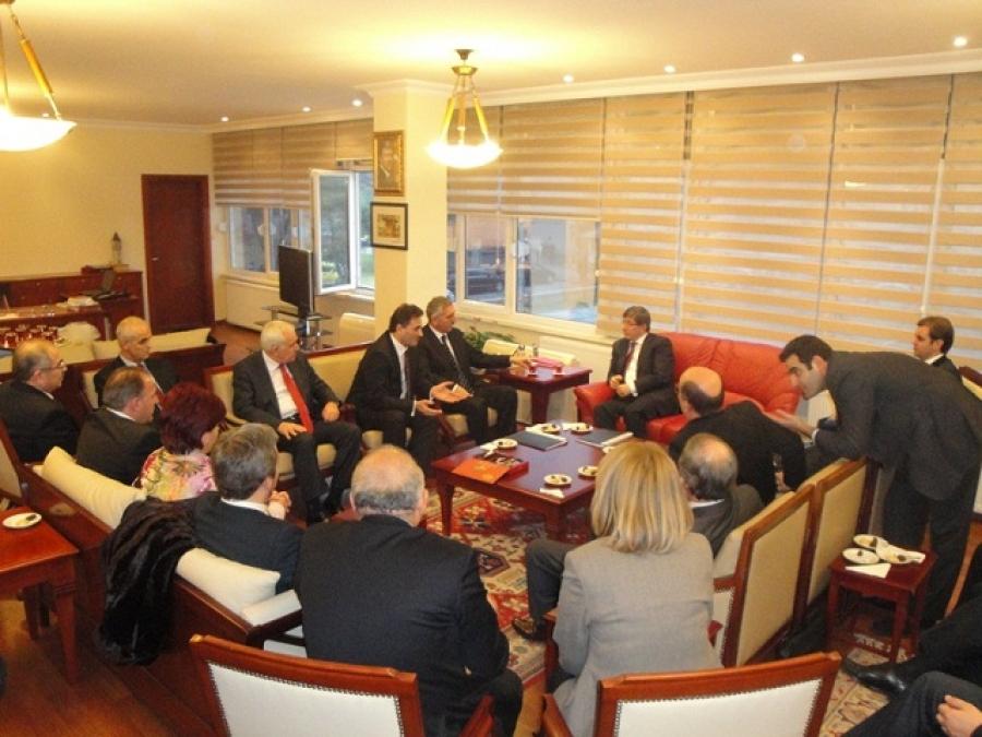 Kosova Heyeti Büyükelçiler Konferansında