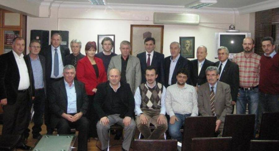 Kosova Heyeti Rumeli Derneğini Ziyaret Etti