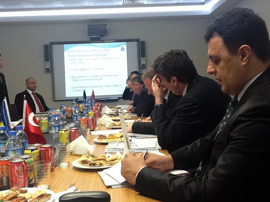 Kosova Heyeti, Türkiye Kamu İhale Kurumu Ziyaretinde