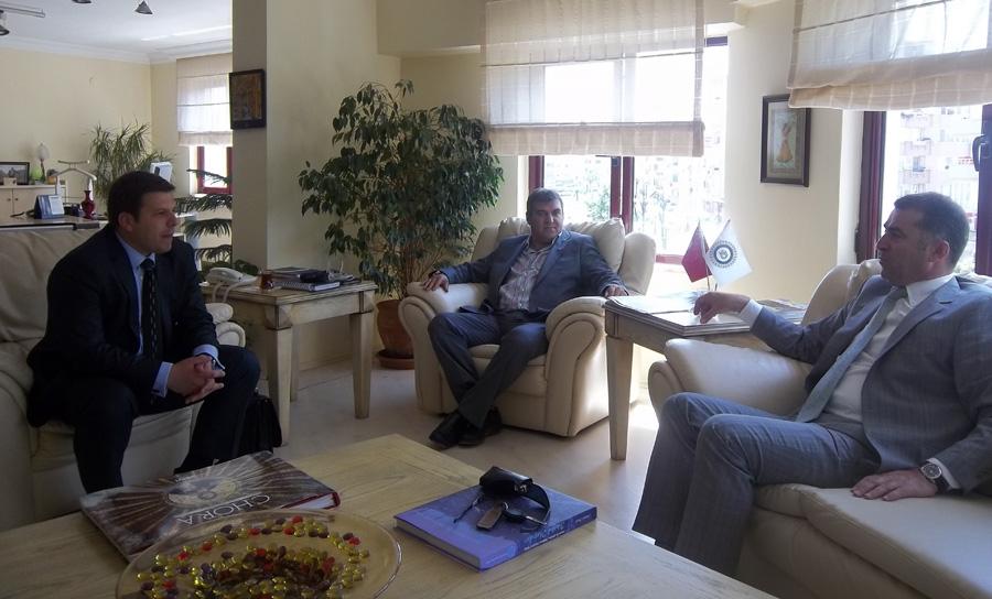 KDTP Prizren Şubesi Başkani Levent Buş Yalova'da