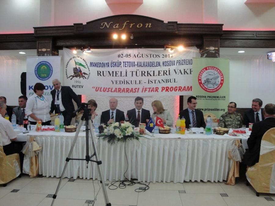 Kosova ve Türkiye'yi Buluşturan İftar Yemeği