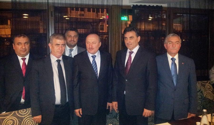 Eskişehir Valisi KDTP Genel Başkanıyla yemekte buluştu