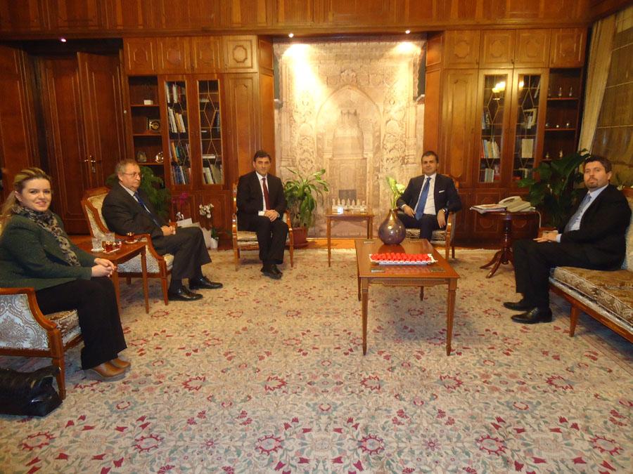 Bakan Yağcılar, Türkiye Kültür Bakanı Çelik'i Ziyaret Etti