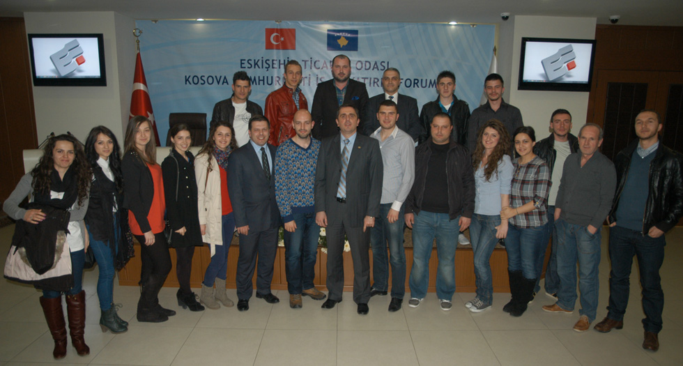 Eskişehir'de Kosovalı Öğrencilerle Buluşma