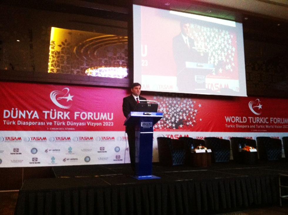 Genel Başkan Yağcilar Dünya Türk Forumu'na Katildi