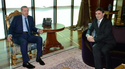 Genel Başkan Mahir Yağcılar, Başbakan Erdoğan ile makamında görüştü