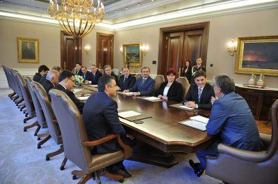 KDTP heyeti, Cumhurbaşkanı Abdullah Gül ile görüştü