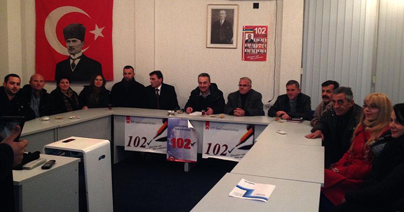 KDTP Gilan-Doburçan Şubesi Seçimleri 130 Oy Artışla Başarılı Olarak Değerlendirdi