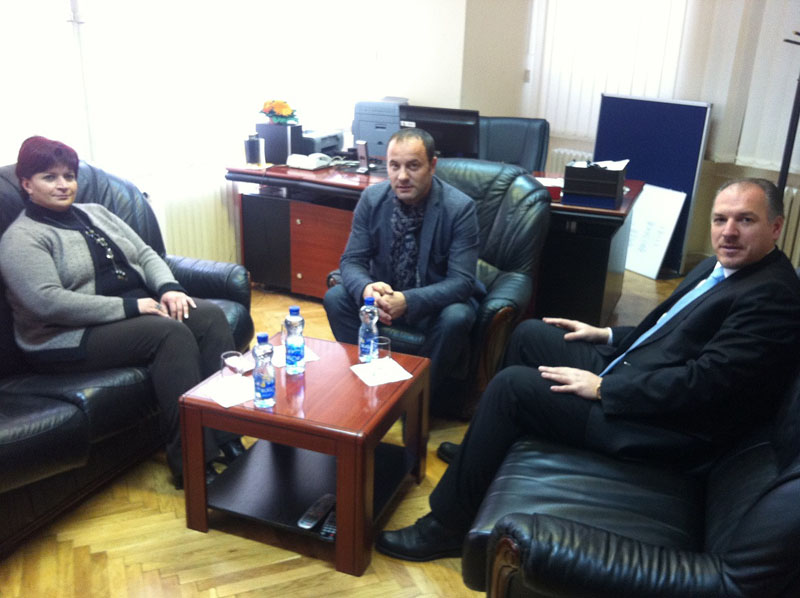 KDTP Milletvekilleri Kosova Radyosu'nu Ziyaret Etti