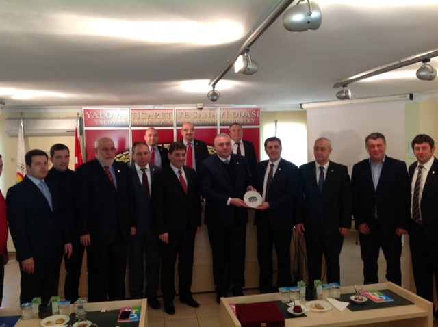 Kosova Heyeti Yalova ve Gebze'de Yatırım Çağrısında Bulundu