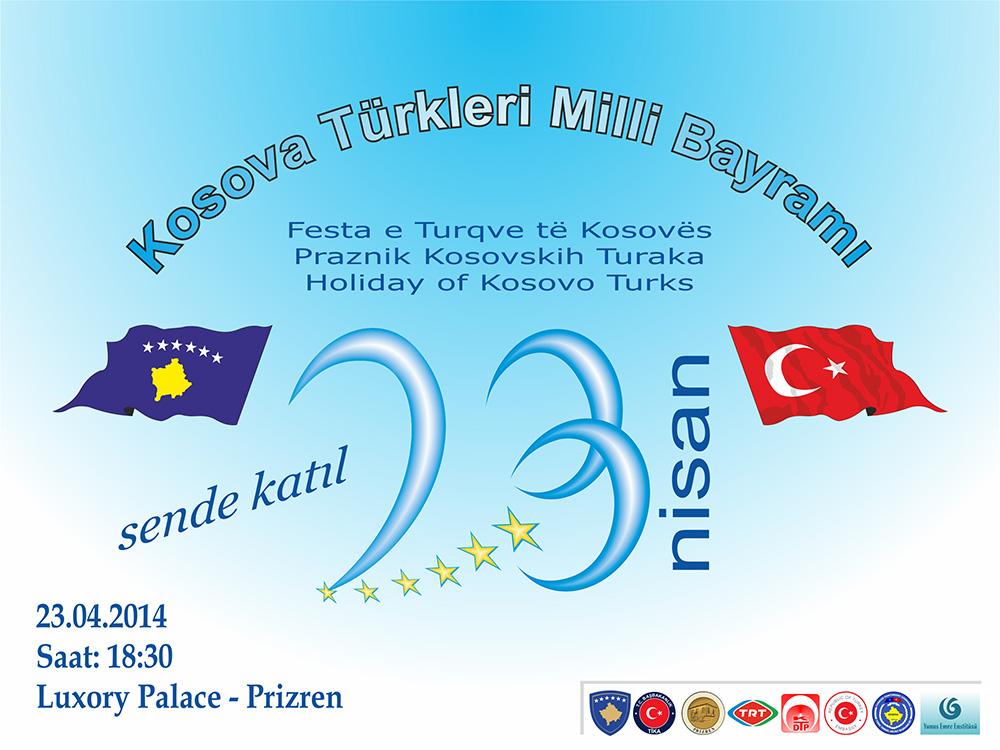 """23 Nisan """"Kosova Türklerin Milli Bayramı"""""""