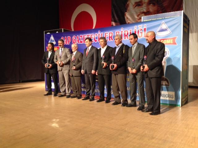 Bakan Mahir Yağcılar, En İyi Bakan Siyasetçi seçildi