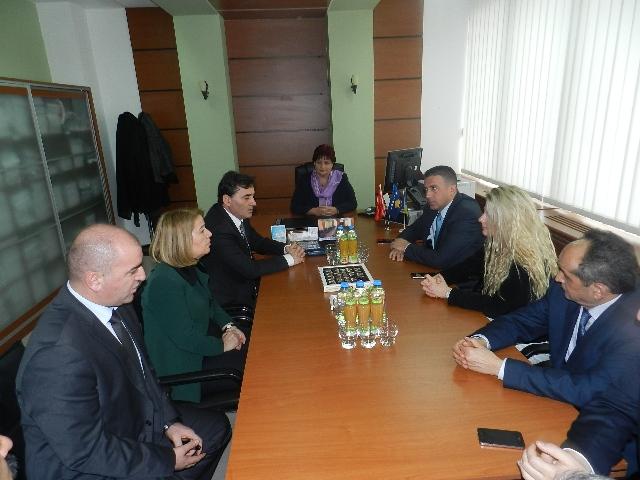 Büyükelçi Ozan 6+ Parlamento Grubu'nu Ziyaret Etti