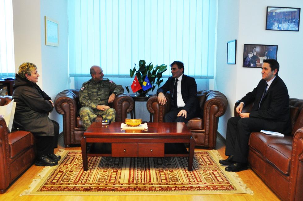 Albay Demircioğlu Bakan Yağcıları ziyaret etti