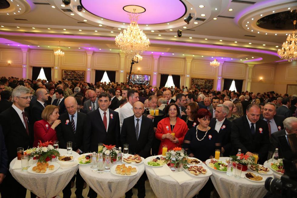 23 Nisan Kosova Türkleri Milli Bayramı Kutlamaları Resepsiyonla Sona Erdi