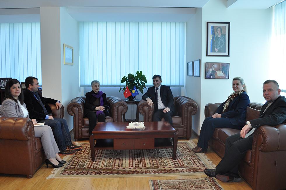 Bakan Yağcilar, Mehmet Akif Ersoy'un Torunu ARGON'u Kabul Etti