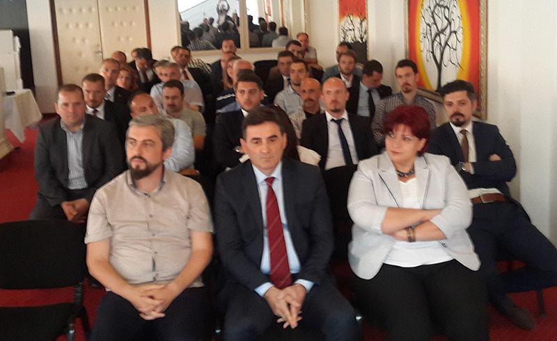 Sencar Karamuço KDTP Prizren Şubesi Başkanı