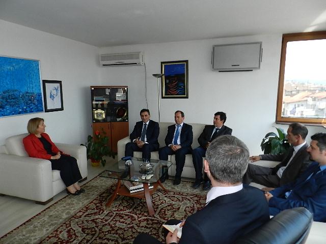 KDTP'den Büyükelçi Ozan'a Destek Ziyareti