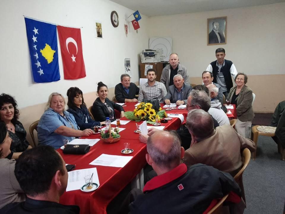 KDTP Mitroviça Şubesi Başkanı Erol Zekeriya