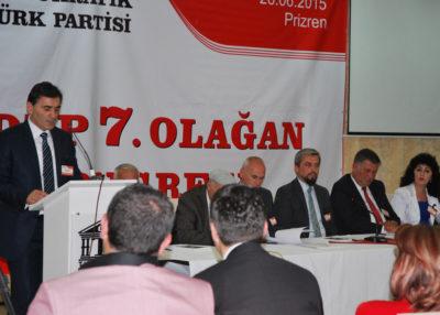Mahir Yağcılar Bir Dönem Daha KDTP Genel Başkanı