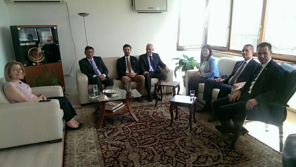 KDTP'den Büyükelçi Ozan'a Veda Ziyareti