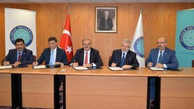 Üç Üniversite İle İşbirliği Protokolü İmzalandı