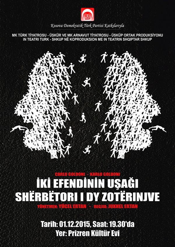 """""""İKİ EFENDİNİN UŞAĞI"""" Tiyatro Oyunu"""