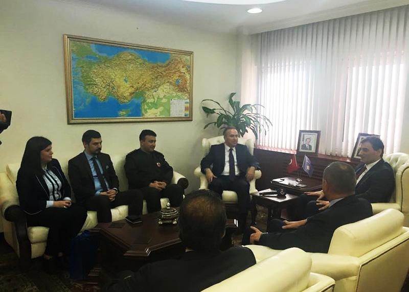 Genel Başkanımız Düzce Valisi Ali Güney'i Ziyaret Etmiştir