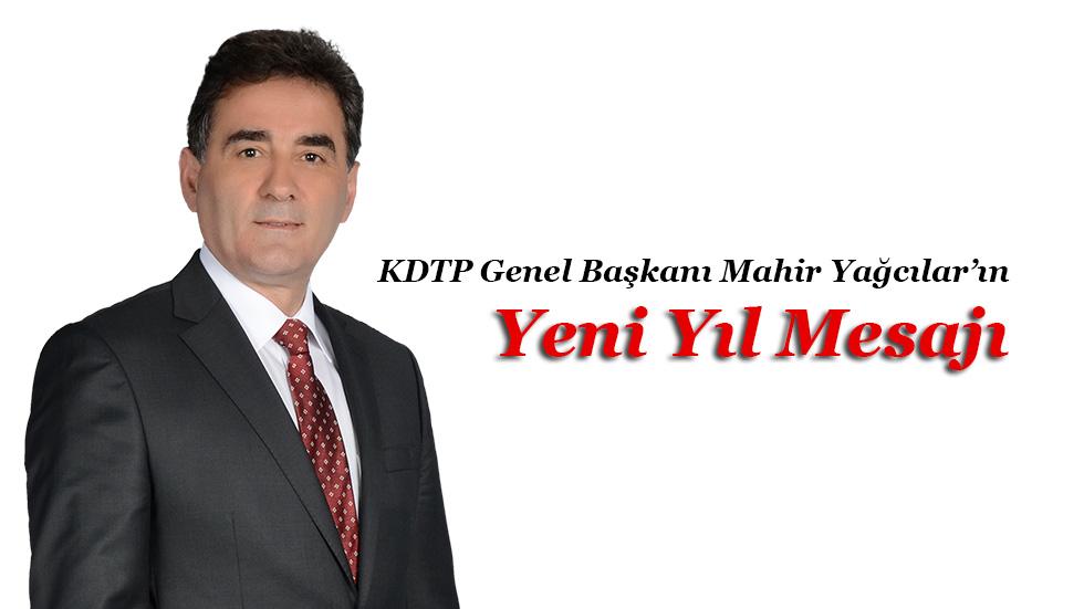 KDTP Genel Başkanı Mahir Yağcılar'ın Yeni Yıl Mesajı